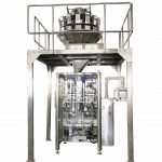Pet food automatic bag forming filling packaging machine