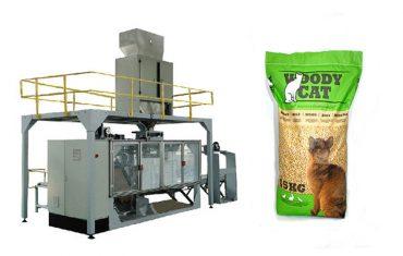 5kg-25kg μηχανές συσκευασίας απορριμάτων γάτας