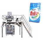 4 κεφαλές γραμμική ζυγός απορρυπαντικό πλύση σκόνη μηχανή συσκευασίας