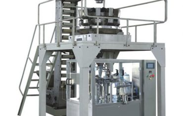 κοκκώδης ζυγός προγεμισμένη σακούλα περιστροφική μηχανή συσκευασίας