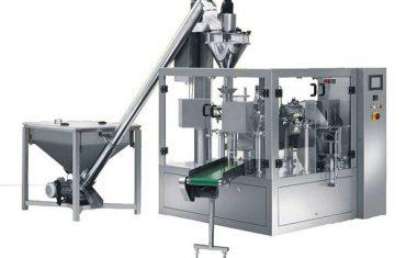 αυτόματη περιστροφική μπαχαρικό σε σκόνη πλήρωση μηχανή συσκευασίας