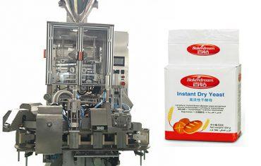 αυτόματη μηχανή συσκευασίας κενού σε σκόνη ζύμης