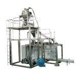 μεγάλη τσάντα αυτόματη σκόνη ζύγισης μηχανή πλήρωσης γάλα σε σκόνη συσκευασίας
