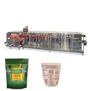 Doypack σκόνη κοκκίων συσκευασίας οριζόντια μορφή φούρνου σφραγίδα μηχανή