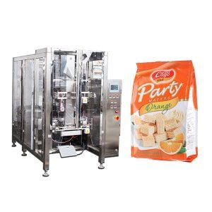Πλήρης Αυτόματη Τροφίμων Quad σφραγίδα τσάντα μηχανή συσκευασίας