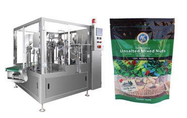 έξυπνη περιστροφική μηχανή συσκευασίας σακουλών προθέρμανσης
