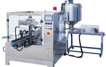 υφασμάτινη μηχανή συσκευασίας υγρού & πάστας