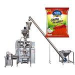 μηχανή συσκευασίας vffs bagger με γεμιστήρα γεώτρησης για την πάπρικα και σκόνη τροφίμου τσίλι