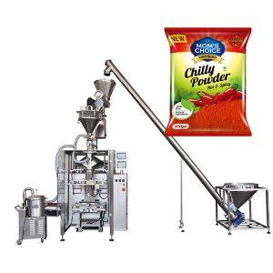 Μηχανή συσκευασίας VFFS Bagger με γεμιστήρα Auger για την πάπρικα και τη σκόνη Τσίλι Τροφίμων