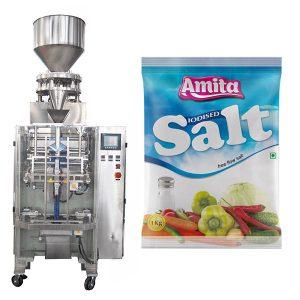 Κάθετη αυτόματη σακούλα σακουλάκια αλάτι συσκευασίας μηχάνημα